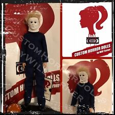 Sale! Ben Tramer Halloween 2 Custom Horror Doll Michael Myers Ooak 12� Figure