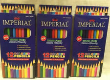 36 Colored Pencils Pre-Sharpened Imperial - Blendable Colors