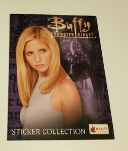 Buffy The Vampire Slayer Sticker Collection Book (Merlin, 2001) NEW