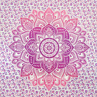 Indian Tapestry Wall Hanging Mandala Hippie Queen Bedspread Blanket Throw Decor