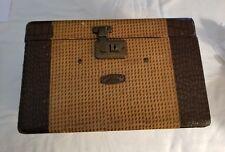 Vintage Rare 1940s Gadabout by Neevel train makeup case KCMO Norfolk LAt