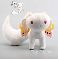 New Puella Magi Madoka Magica Kyubey QB Incubator Plush Toy Soft Doll 9'' Teddy