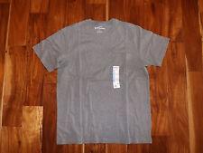 New Mens EDDIE BAUER Heather Medium Gray Pocket Basic T Shirt Size 3XL XXXL