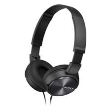 Sony MDR-ZX310 Black Headband-style headphones with lightweight, folding design