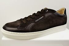 DOLCE & GABBANA SUEDE MENS TRAINERS BRAND NEW SIZE UK 11 (X20)