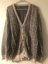Van Heusen mens sweater size medium button up
