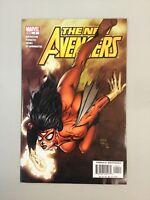 New Avengers 4 Finch Marvel Comics 2005 1st Maria Hill (NA09)