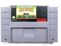 Super Mario All-Stars + Super Mario World - SNES Nintendo Game Authentic!