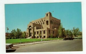 NM Gallup New Mexico vintage post card - Court House