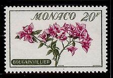 MONACO #441 MNH VF OG Flowers Bougainvillier 20F 1959