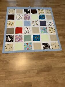 """Handmade Lap or Baby Patchwork Cover 45x45"""""""