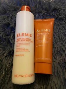 Elemis neroli blossom Set Bath & Shower Milk and Body Cream  rrp £44