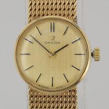Vintage Omega Manual Wristwatch 9ct Yellow Gold (1968)