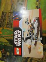 Lego Star Wars 7668 Instruction Manual Only Rebel Scout Speeder Booklet~