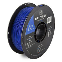 HATCHBOX 3D PLA-1KG1.75-BLU PLA 3D Printer Filament, Dimensional Accuracy +/-
