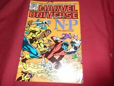OFFICIAL HANDBOOK OF THE MARVEL UNIVERSE #8 Marvel Comics 1983 NM
