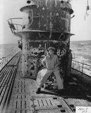 WW2 WWII Photo Capt. Gallery on Captured German U-Boat U-505 World War Two /7194