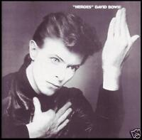 DAVID BOWIE - HEROES ~ 24 BIT DIGITAL REMASTER CD ~ 70's GLAM POP *NEW*