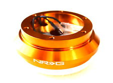 NRG SHORT HUB QUICK RELEASE STEERING WHEEL GOLD HUB HONDA FIT CR-Z EK EX S2000