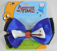 Adventure Time Marceline Axe Guitar Cosplay Hair Bow Pin Clip Costume Dress-Up