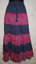 New Fair Trade Cotton Skirt 24 26 28 30 32 - Hippy Ethnic Ethical Hippie Gypsy