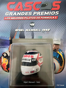 Nigel Mansell helmet collection 1/5 new sealed From Argentina