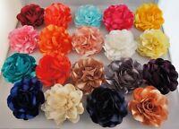 Haarblume Flower 20 Farben Haarblüte Ansteckblume Stoffblume Brosche Haarspange