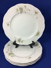 Rosenthal CATHERINE Classic Rose Collection DINNER PLATES Germany SET OF 4   #B