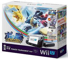 Nintendo Wii U Pokemon POKKÉN TOURNAMENT Set Limited amiibo Card Dark Mewtwo NEW