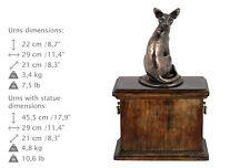 Egyptian Mau, cat urn, made of cold cast bronze, ArtDog, Usa - kind1