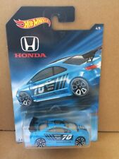 HOT WHEELS DIECAST -New Honda Series - Honda Civic SI - 4/8 -Combined Postage