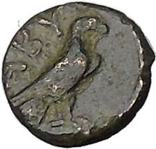 ABYDOS in TROAS 300BC Ancient Greek Coin APOLLO Cult Eagle wings closed i47869