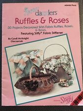 Bow Dazzlers Vintage Booklet Ruffles & Roses-Charming Bows & Baskets 30 project