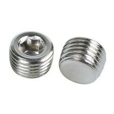 20pcs Hex Head Pipe Plug Connector Coupling Adapter 1/4 NPT Male Thread A1G1