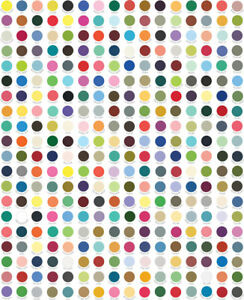 My Favourite Colour is Moda Dots SKU 9900 10 Dots - Sold by the QUARTER METER