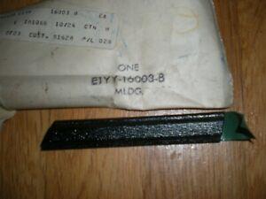 NOS 1981 Mercury Lynx Front Fender Moulding RH E1YY-16003-B