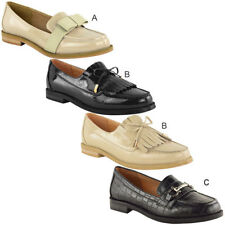 Evening Patternless Loafers, Moccasins Flats for Women