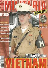 MILITARIA N°280 MP VIETNAM / MINE ALL WWII / SOE / 501e RCC / ECOLE CHERCHELL