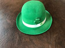 St. Patrick's Day Derby Hat Adult One Size Green Leprechan