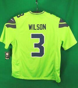 New Nike Russell Wilson #3 On Field NFL Players SEATTLE SEAHAWKSjersey XXL $150