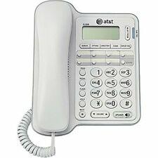 ATT Landline Phone w/ Caller ID & Speaker For Seniors Large Button For Home Wall