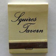 Squires Tavern 3Edmunds St Darwin 819761 Matchbook (MK27)