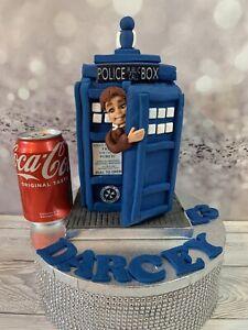 Edible Dr Who & Tardis Cake Topper Cake Decoration