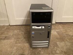 HP Compaq DC5100 MT Computer w/ Intel Pentium 4 3.40GHz 2GB RAM 160GB HDD