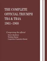 1961-1968 Triumph Tr4 & Tr4A  Bentley Service Repair Workshop Manual Book