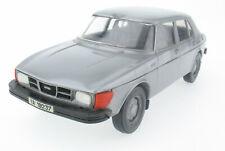 Stahlberg - Saab 99 GL 4-Door 1977 silver grey + license plate - 1:20 Finland