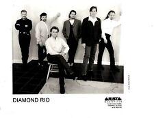 DIAMOND RIO Arista Nashville Records Press Agent 8 x 10 Black & White Photo