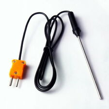 Temperature Controller K Type Thermocouple Probe Sensors 100cm Wire Cable 1M GHT