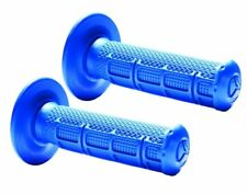 Tag Metals Cradle ATV Twist Throttle Blue Grips Half Waffle Medium Compound