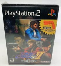 NEW Time Crisis II with Guncon 2 (2001 Sony PlayStation 2, PS2) FACTORY SEALED